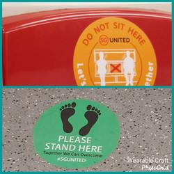 Safe distancing on public transport