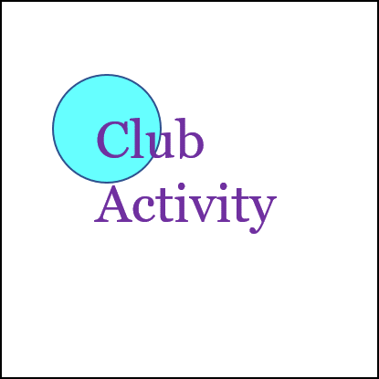 Customise WS - club activity