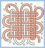 PanChang Weave knot (Loops and Intersect