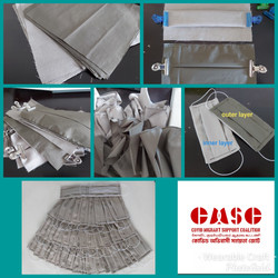 Sewing fabric masks -2