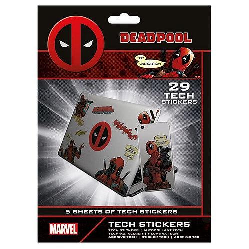 Sada vinylových samolepek Deadpool - Merc With A Mouth (29 ks)