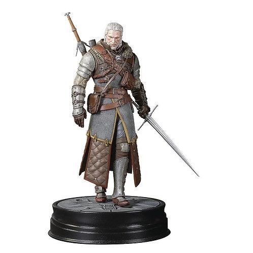 Figurka Zaklínač 3: Geralt ve zbroji velmistra Ursina