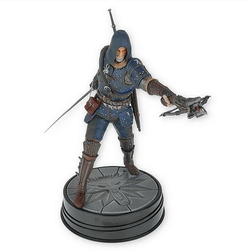 Figurka Zaklínač 3: Geralt ve zbroji velmistra Felina