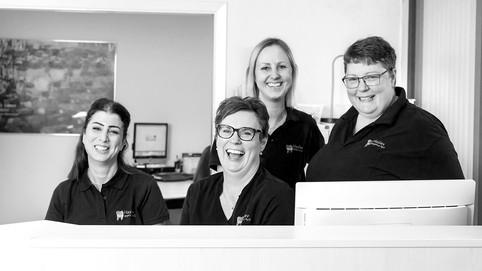 Haslev Tandlægehus  – klinikassistenter – fællesportræt