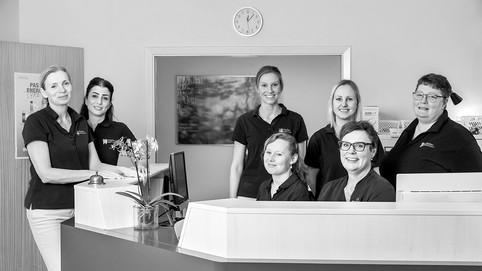Haslev Tandlægehus  – fællesportræt