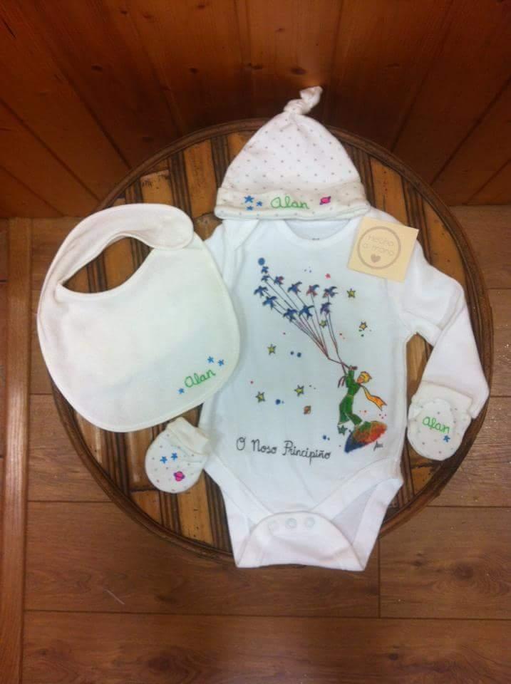 conjunto bebé personalizado