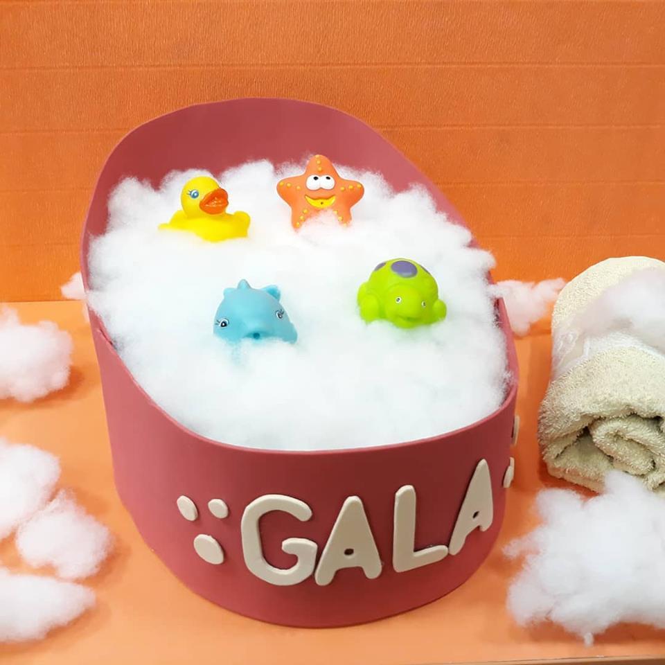 Bañera de pañales