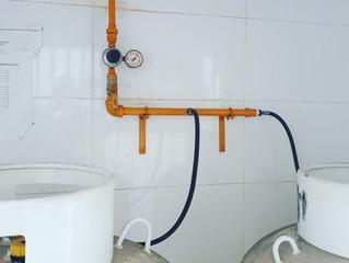 Teste de Estanqueidade em tubulação de gás