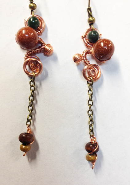 2014 Earrings Earth 2