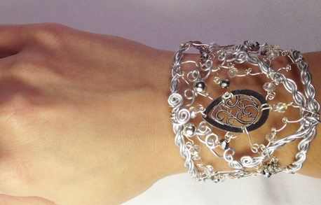 2013-07 Silver Glamour (Bracelet on hand)