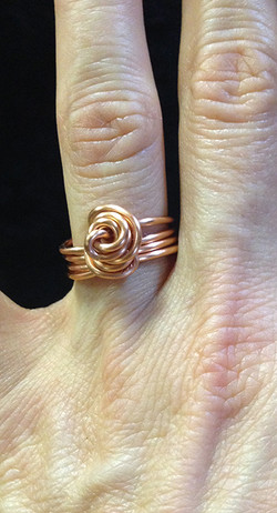2014 Copper ring knot
