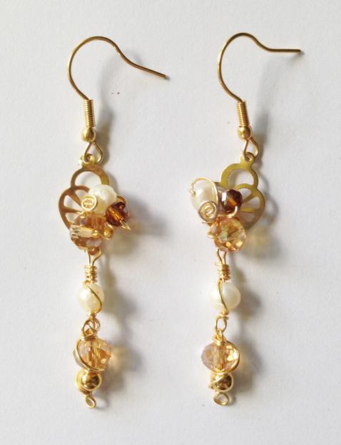 2013 Angelic Gold Earrings 2