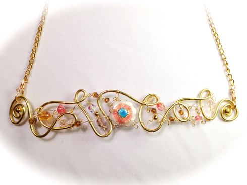 2014-07 LTB Angelic Gold (flat necklace)