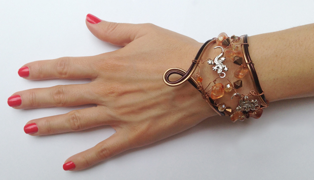 2013-07 STB Earthy thoughts (Bracelet)