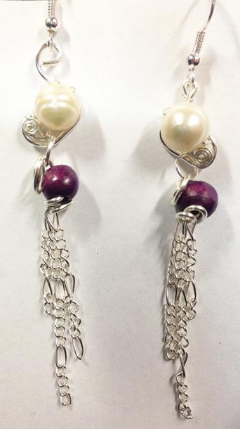 2014 Earrings Pearl