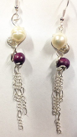 2014 Earrings Pearl