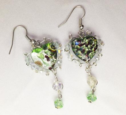 2014 Forest Fairy Earrings 1