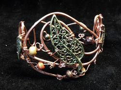 2014 Copper Cuff with big brass leaf.jpg