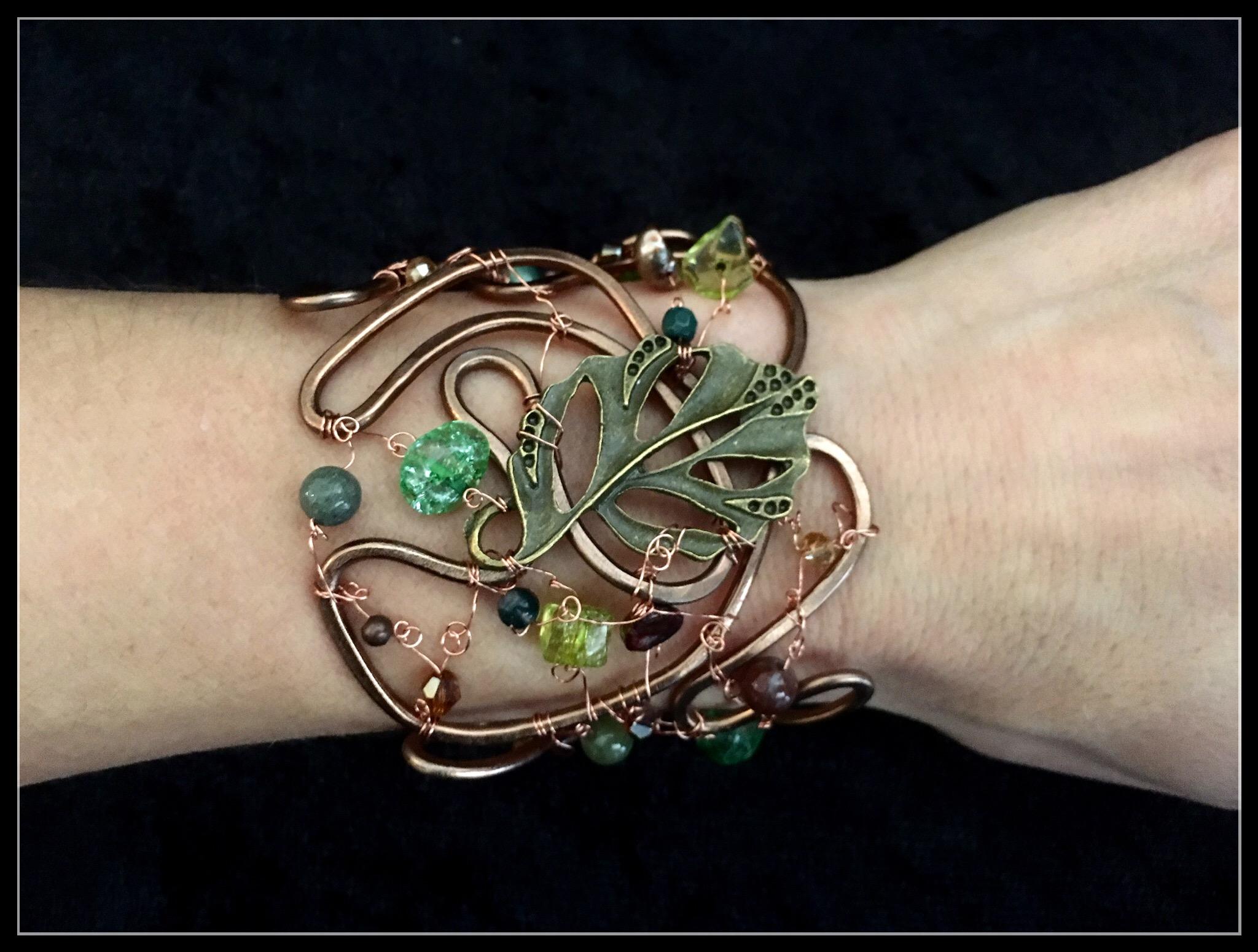 2016 FFS Big Leaf Bracelet on hand