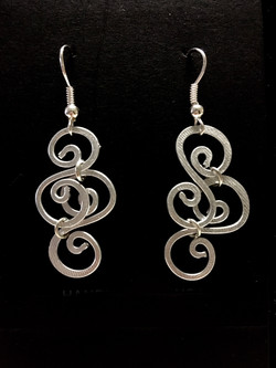 Ethereal Esther Earrings - Double S