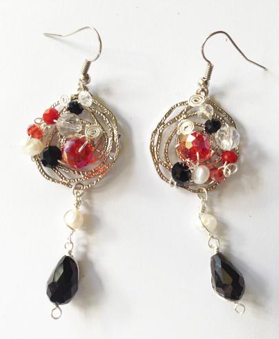 2014 Mystic Volcano Earrings