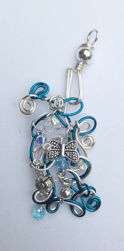 2013-07 Small Transition Pendant with hook Water Fairy