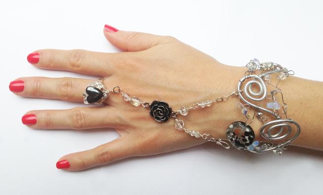 2013-07 LTB Winter Light (Indian bracelet)