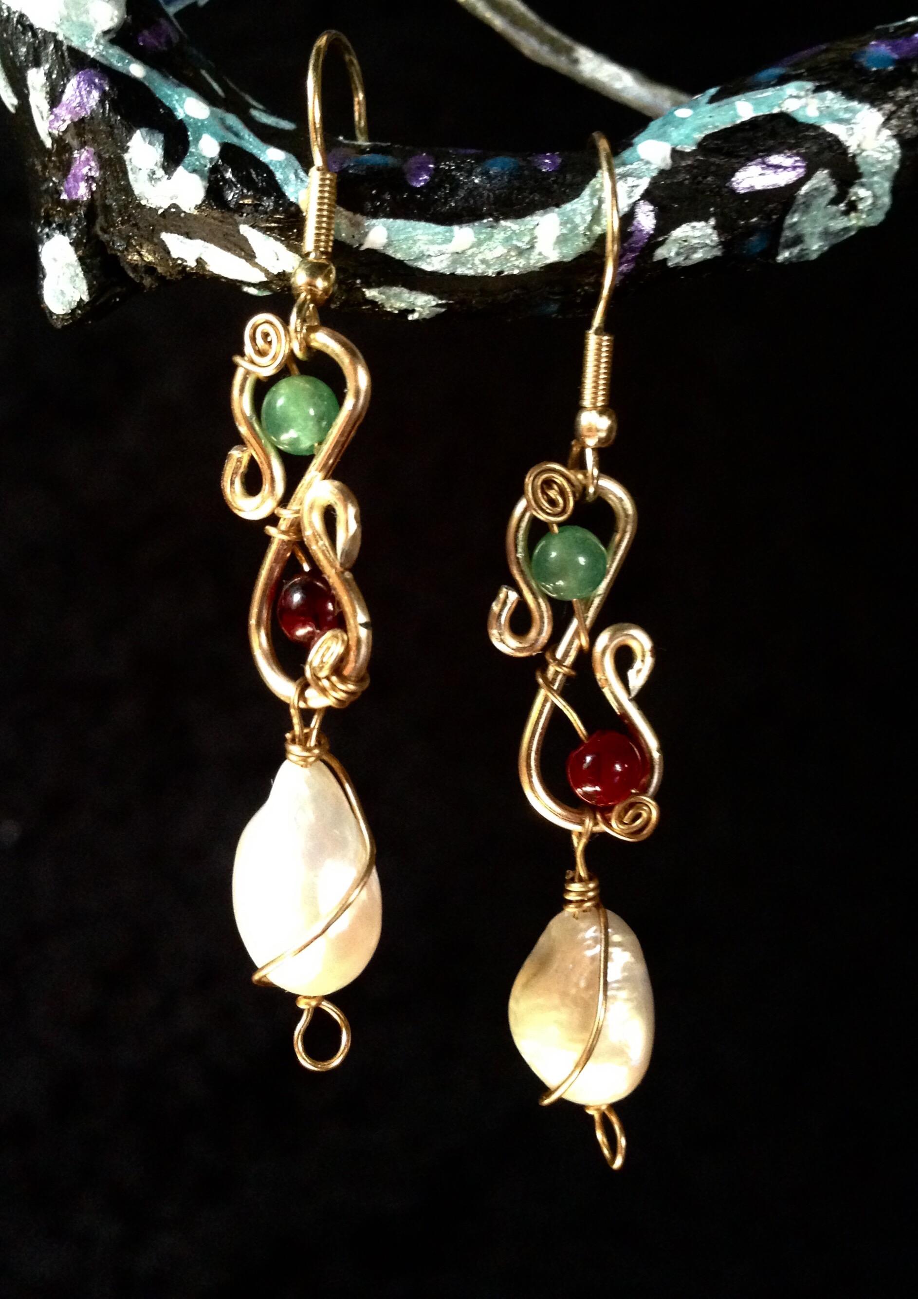 2016 Pearl earrings