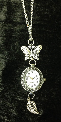 2014 Watch on chain buterfly and leaf.jpg