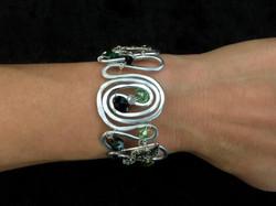 2016 FF swirl bracelet on hand