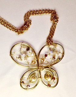 2013 Ethereal Esther Pendant - Butterfly