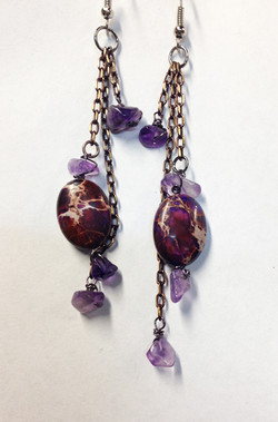 2014 Earrings Amethyst