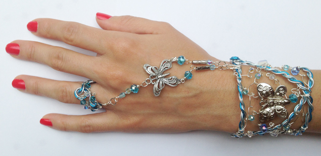 2013-07 STB Water Fairy (indian Bracelet on hand diagonal)