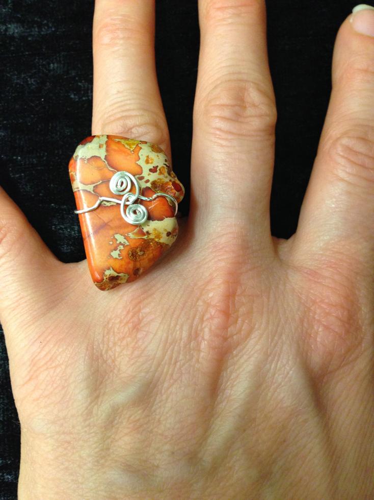 2014 Ring wrapped orange stone.jpg