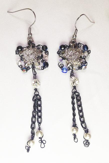 2013 Night Sky Earrings 1