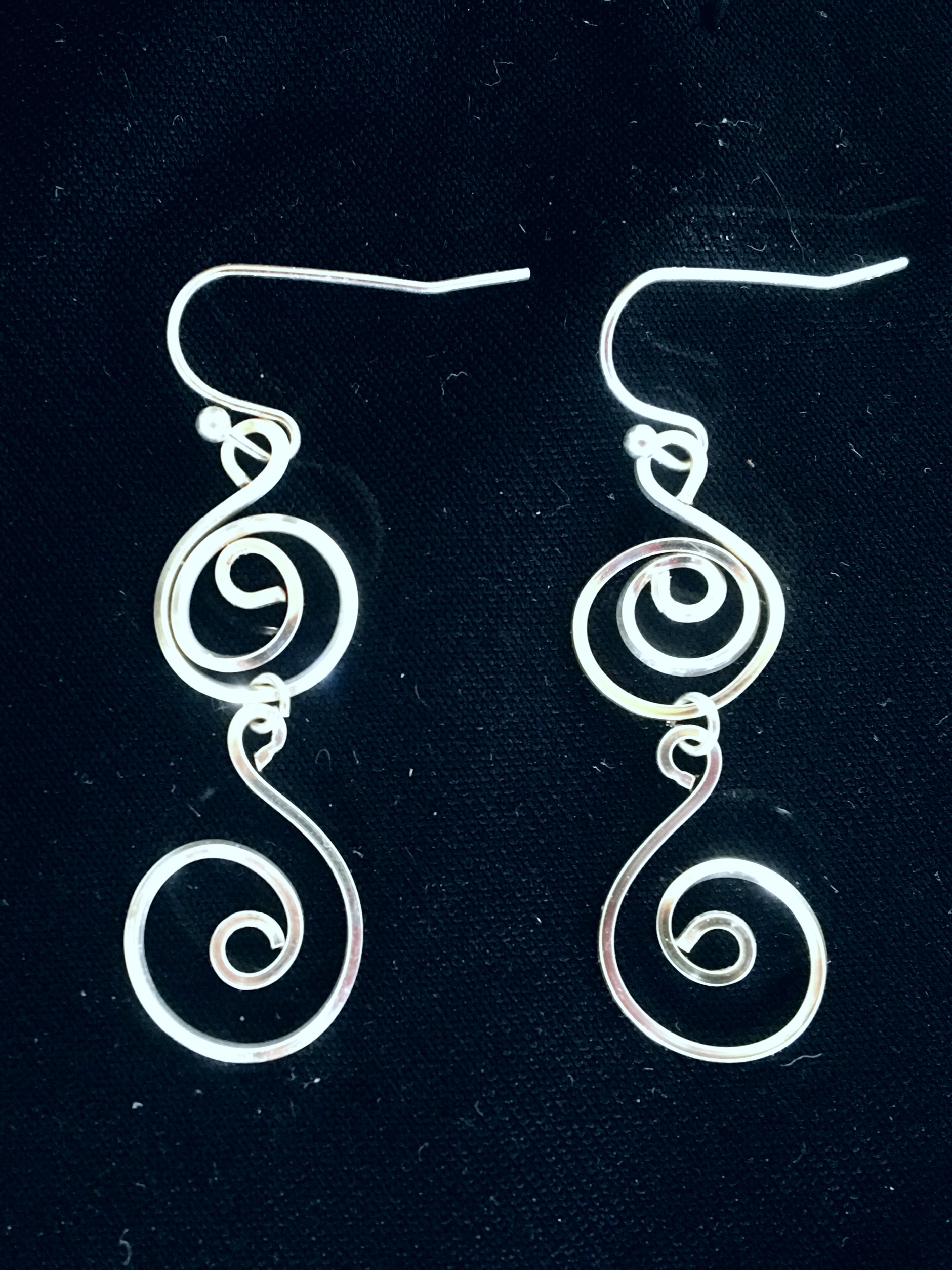 Candid Claire Earrings - Swirl