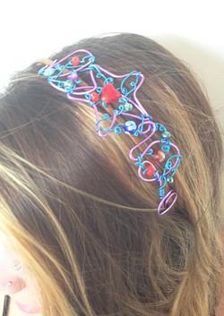 2013-07 LTB Rainbow Pop (Hair piece on model)