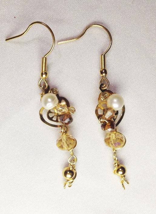 2013 Angelic Gold Earrings 1