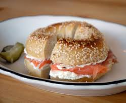 cream cheese and lox