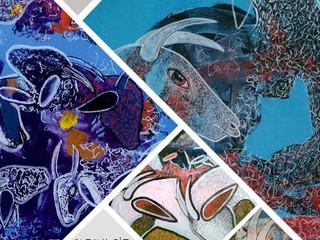 Ressam ve Sanat Eğitimcisi Mehmet Kapçak 'ın büyüleyici sergisi Nişantaşı'ında...