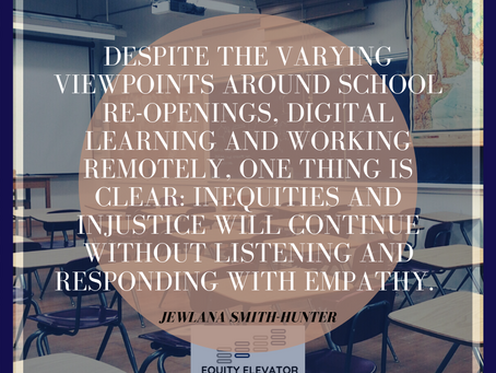 How does equity in the box impact learning during digital learning?