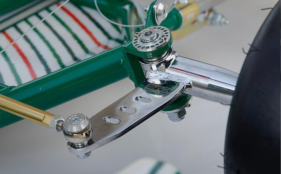 Multi hole HST castor adjustor
