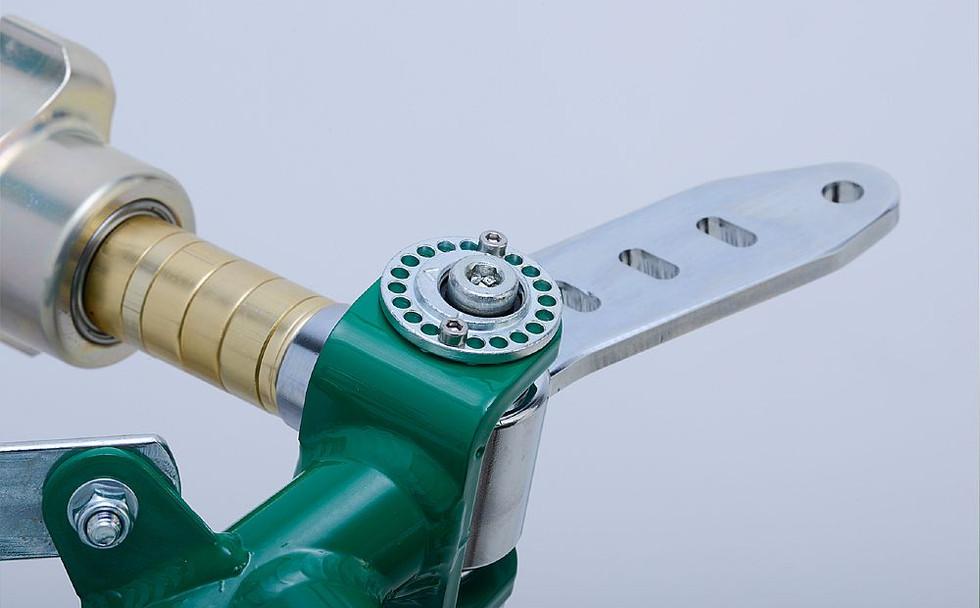 Multi hole BST castor adjustor