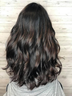 Base Color with soft balayage on ends