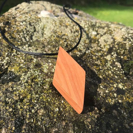 Phoenix Cherrywood Necklace
