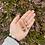 Thumbnail: Black Teardrop Wood Earring Set 🖤