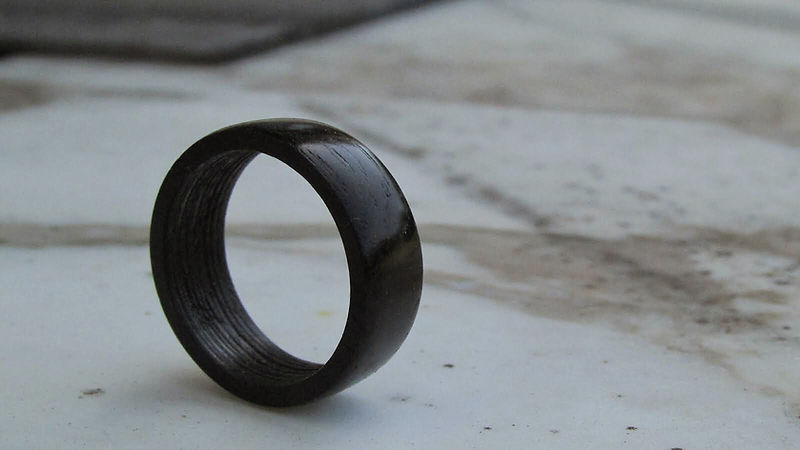 Irish Bog Oak Ring!