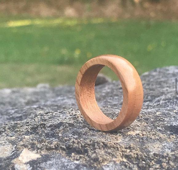 Handmade Cherrywood Ring