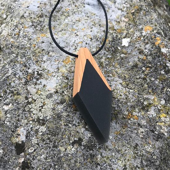 Phoenix Black Necklace