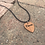 Thumbnail: Wooden Guitar Pick Necklace